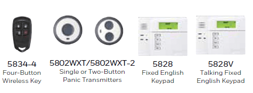 Remote Controls and Keypads